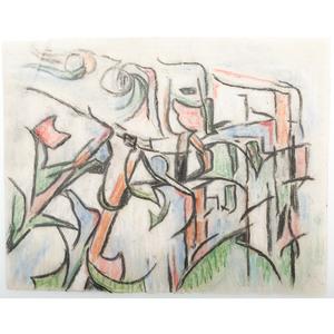 Ida Carmichael (Cincinnati, 1884-1981), Graphite, Pencil, and Ink Sketches