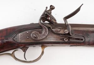 Kentucky Flintlock Rifle By Robert Woods