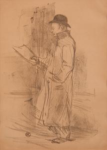 Henri de Toulouse-Lautrec (French, 1864-1901) Lithograph