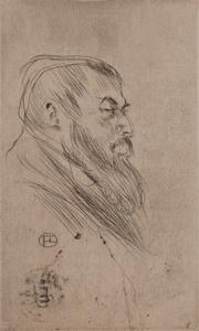 Henri de Toulouse-Lautrec (French, 1864-1901) Drypoint