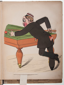 [Children's - Illustrated - Movable Book] Classic Lothar Meggendorfer Movable Book Complete with 8 Chromolithograph Plates, Ca. 1890