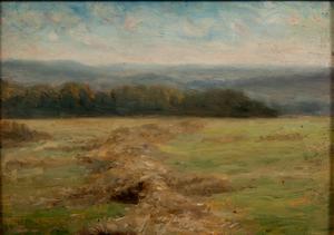 William Edward Norton (American, 1843-1916) Oil on Board