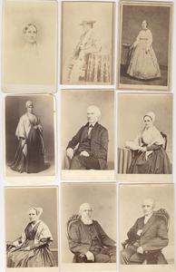 Exceptional Abolitionist Family CDV Album Containing Photographs of Slaves, Views of Port Royal, South Carolina, and Portraits of Prominent Abolitionist & Quaker Personalities