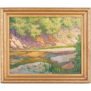 William Purcell McDonald (Cincinnati, 1863-1931), Oil