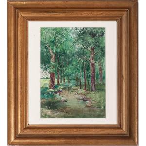 Paul Ashbrook (Cincinnati, 1867-1949), Watercolor