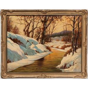 Richard Frederick Erdmann (Cincinnati and Chillicothe, Ohio, 1894-1965), Oil