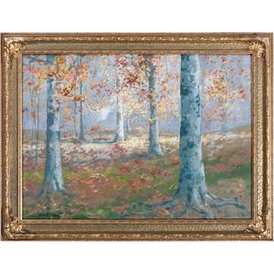 William Arnold Eyden (Richmond, Indiana, 1893-1982), Watercolor and Gouache