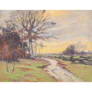 George Herbert Baker (Indiana, 1878-1943), Pastel