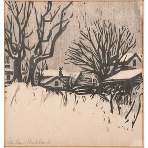 Harlan Hubbard (Northern Kentucky, 1900-1988), Woodcut
