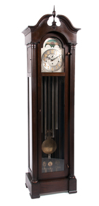 Charles Jacques Six-Tube Case Clock