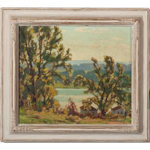 Oscar Erickson (Brown County, IN, 1883-1968), Oil