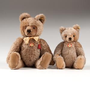 Steiff Mohair Teddy Bears, Lot of Two