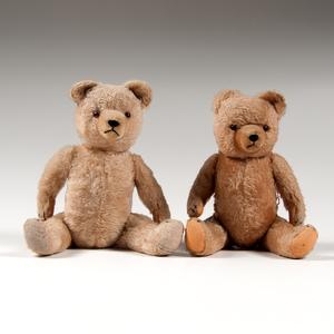 Hermann Teddy Bears, Lot of Two