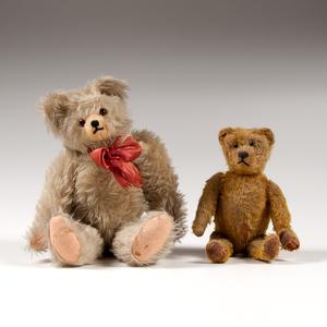 German Teddy Bears, Lot of Two