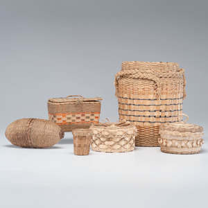 Northeastern Native American Sewing Baskets