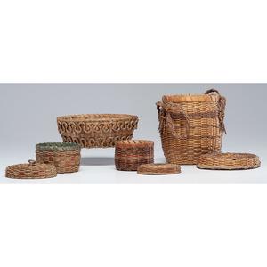 Northeastern Native American Craft Baskets