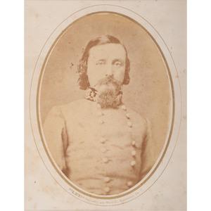 Rare Civil War Albumen Photograph of CSA General George Pickett, by Lee Gallery, Richmond, VA