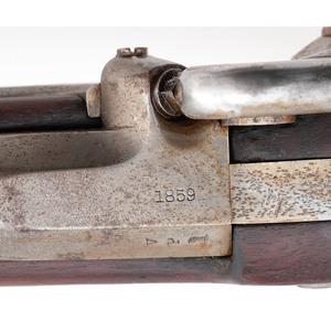 U.S. Springfield M1855 Rifle Musket & Bayonet
