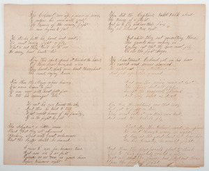 Scathing Civil War Manuscript Poem, Our Officers, sent from the Field by a Private in the 50th Illinois Infantry