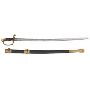 Charles Miller Civil War Archive Including M1850 Foot Officer's Sword