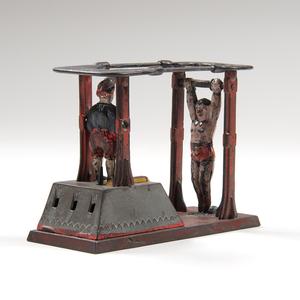 J. & E. Stevens Acrobat Mechanical Bank