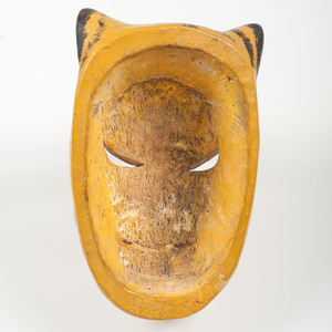 Mexican Jaguar and Man's Articulated Parade Mask,
