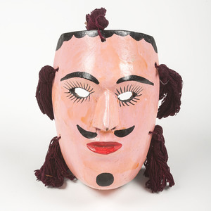 Collection of Mexican Parade Masks, Deaccessioned from the Children's Museum of Indianapolis