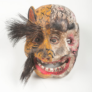 Eccentric Mexican Masks, Deaccessioned from the Children's Museum of Indianapolis