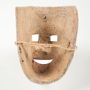 Mexican Male Masks, Deaccessioned from the Children's Museum of Indianapolis