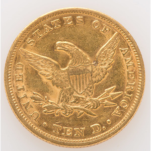 United States Liberty Head $10 Gold Coin 1848