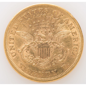 United States Liberty Head $20 Gold Coin 1876