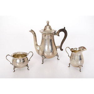 Dunkirk Silversmiths Sterling Tea Set