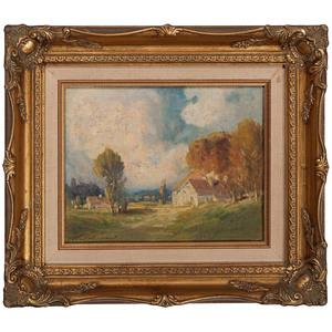 Thomas Jefferson Willison (Cincinnati, 1864-1940), Oil