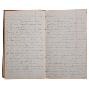 General George Custer's Officer, James McLean Steele, 1868-1869 Diary Describing the Washita Campaign