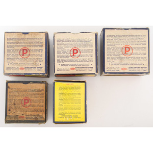 Lot of Five Peters Shotshell Boxes
