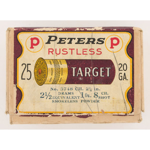 Peters Target Shotshell Box