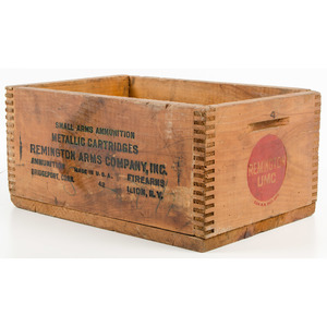 Lot of Remington Shotshell Boxes with Crate