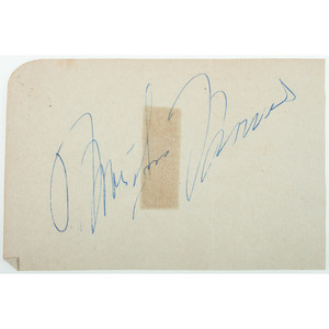 Marilyn Monroe and Rock Hudson Autographs