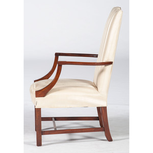 A Chippendale-style Lolling Chair