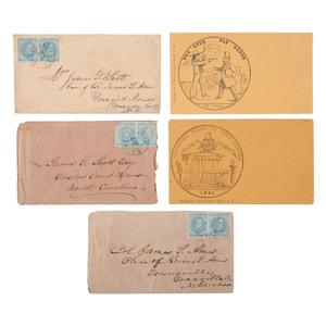 Confederate Postal Covers, Plus