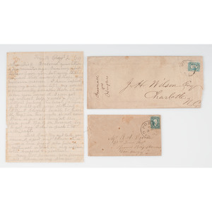 Confederate Letters and Documents