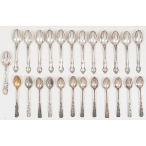 Gorham Sterling Silver Demitasse Spoons