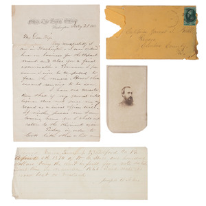 USA Signal Corps Archive Identified to James F. Hall, 1st NY Eng.