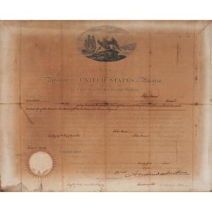 Andrew Jackson Document Signed as President
