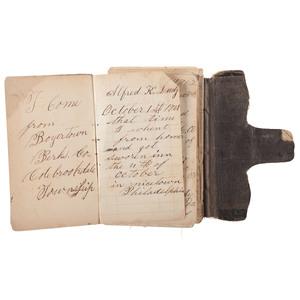 Private Alfred K. Ludy, 8th Pennsylvania Cavalry, Civil War Diary