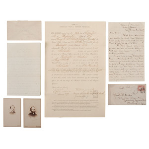 Civil War Dr. John M. McCalla, Jr., Assistant Acting Surgeon in the Union Army, Large Archive