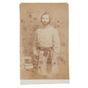 CDV of CSA Colonel Peyton H. Colquitt, 46th Georgia Infantry, DOW Chickamauga