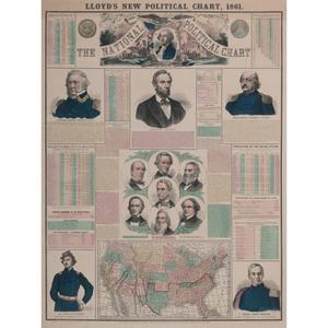 Lloyd's New Political Chart, 1861