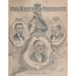 Our Martyred Presidents, Pencil on Paper, 1905