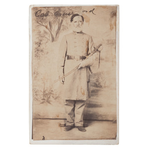 CDV of Colonel James Crawford, 21st Alabama Infantry, by Stanton, Mobile